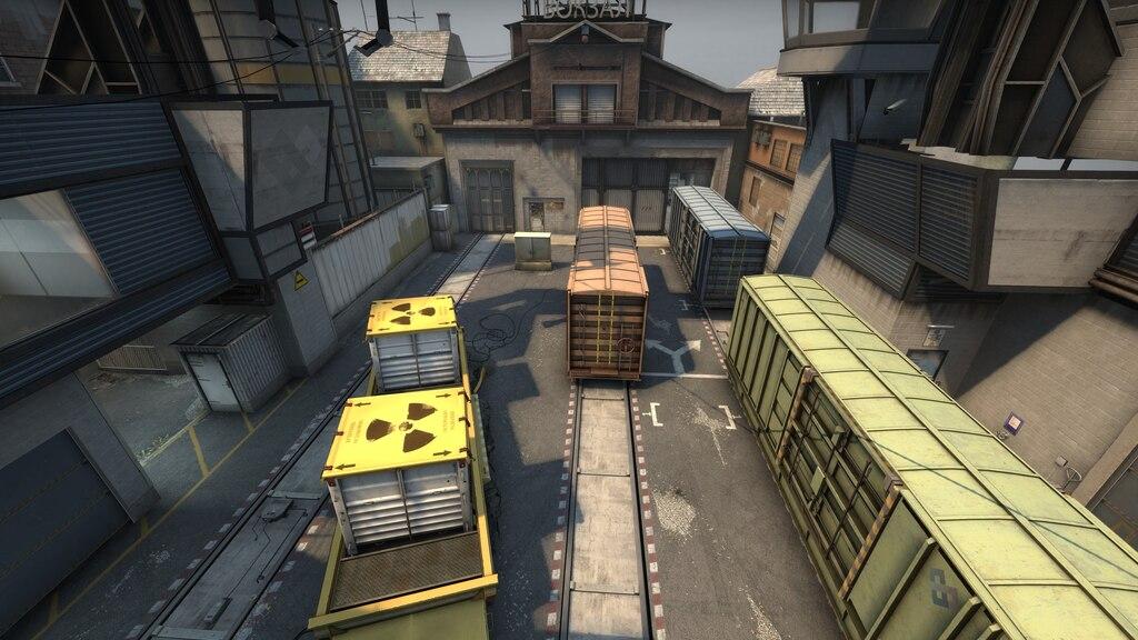 CSGO de_train A - Best Screenshot Config In CSGO - ArcticBlaze