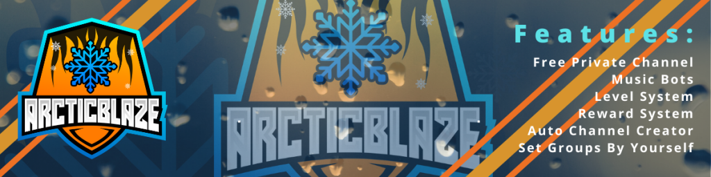 ArcticBlaze Teamspeak Banner